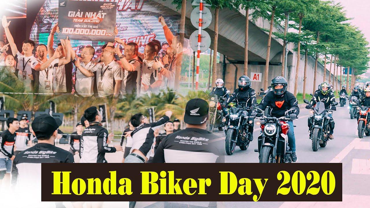 Đi phượt được 'quẩy tới bến' nó sướng thế này- Honda Biker Day 2020
