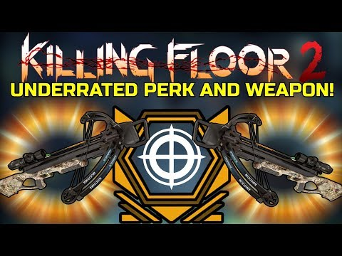 Killing Floor 2 | UNDERRATED PERK WITH AN UNDERRATED WEAPON! - Lockdown Map!