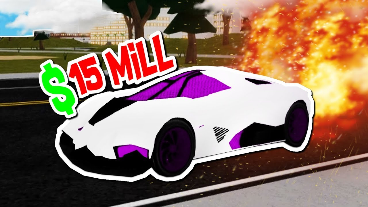 MAXING OUT THE MOST EXPENSIVE CAR!! (Roblox Vehicle Simulator)