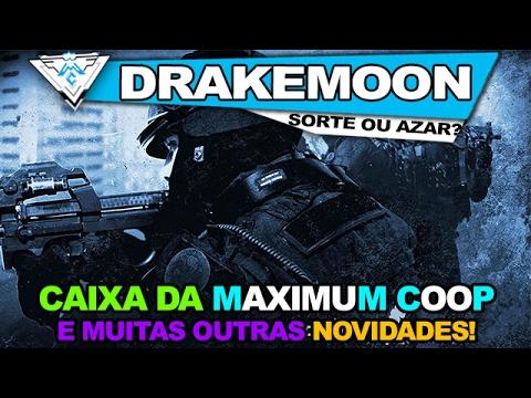 CAIXA DA MAXIMUM COOP E MUITAS OUTRAS NOVIDADES / DRAKEMOON.COM / PT-BR