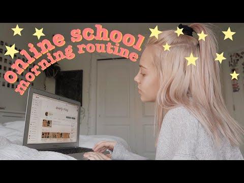 online school morning routine