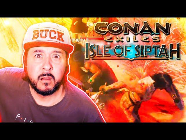 EL SALTO QUE EMOCIONÓ A SPIELBERG! #2 | CONAN EXILES: ISLE OF SIPTAH | GAMEPLAY ESPAÑOL