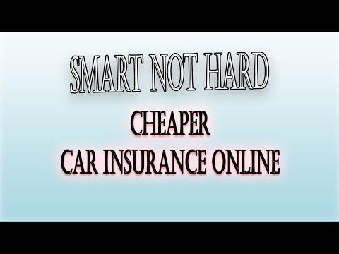 Cheaper Car Insurance Online