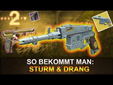 Destiny 2: So bekommt man Sturm & Drang (Deutsch/German)