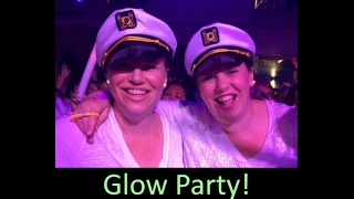GLOW Party & Pulling Into Port Day 7 ♥ Norwegian Escape Group Cruise Vlog [ep21]