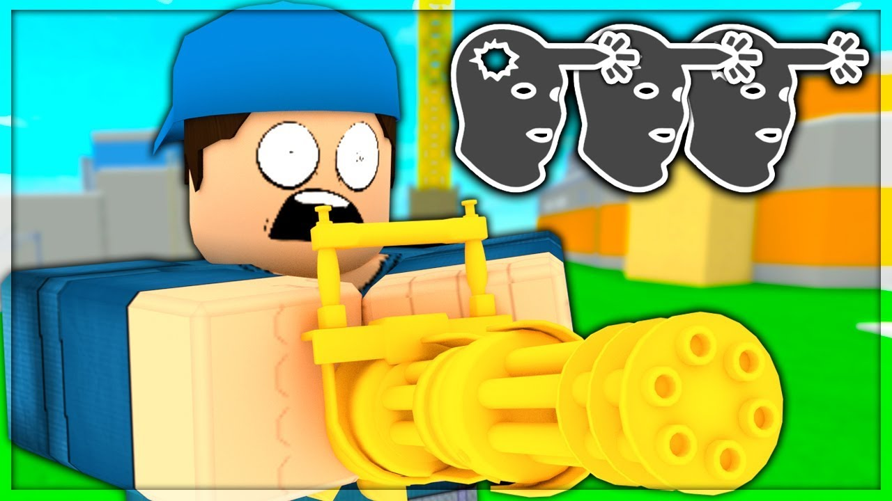 Level 0 To 100 In Arsenal Killing Spree Ep 5 Roblox Youtube