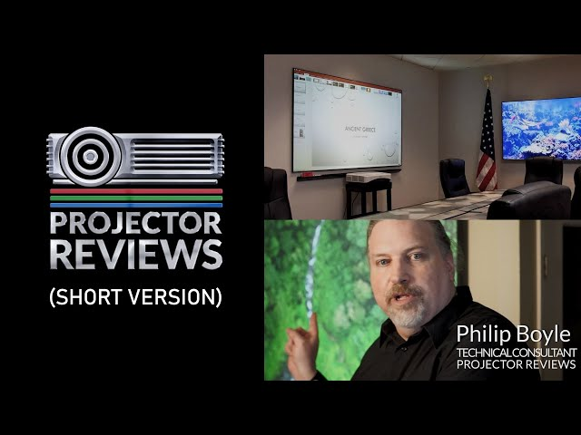 Elite ProAV's WhiteBoardScreen Thin Edge CLR® 2 Reviewed by ProjectorReviews.com  (Short Version)