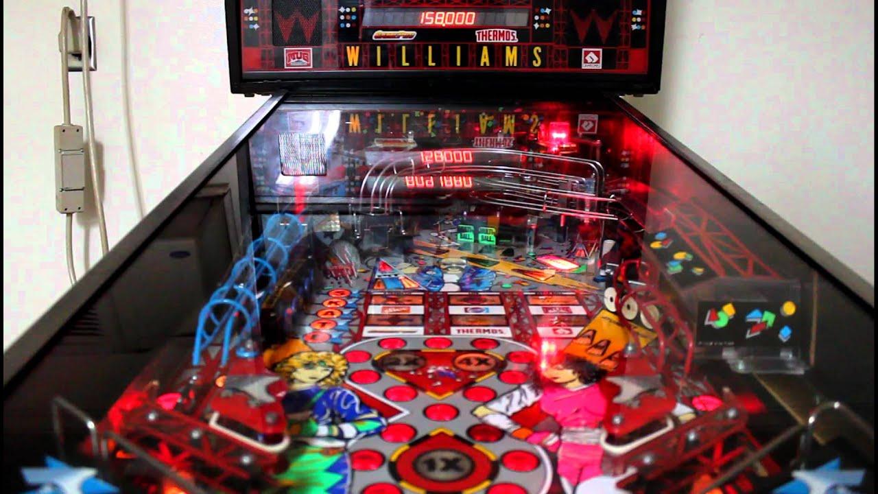 Games Room Pinball Machine