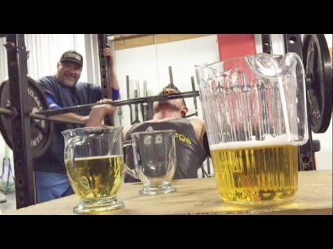 Slingin' Iron and Drinkin' Beer | Alpha Omega vs Big J | BigJsExtremeFitness