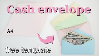 Cash envelope  용돈봉투 만들기