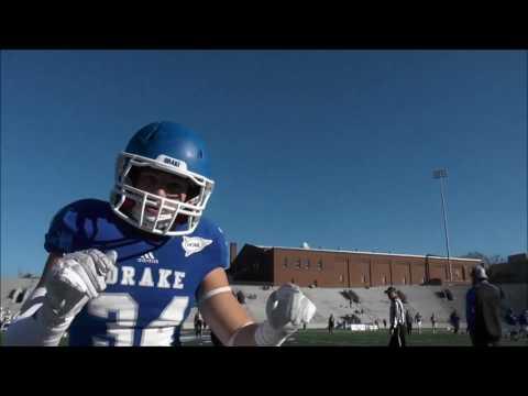 Drake Bulldogs 2016 Football Season Highlights