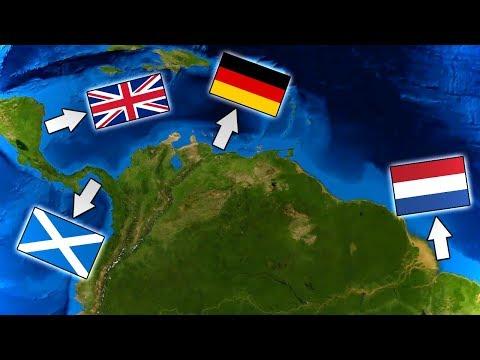 Territorios De Latinoamerica Que Fueron Colonizados Por Otros Países Europeos.