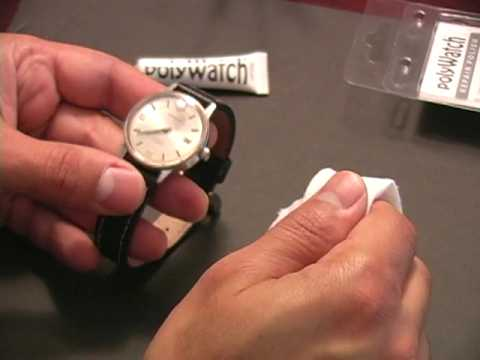 polywatch test remove scratches from acrylic watch crystal youtube. Black Bedroom Furniture Sets. Home Design Ideas