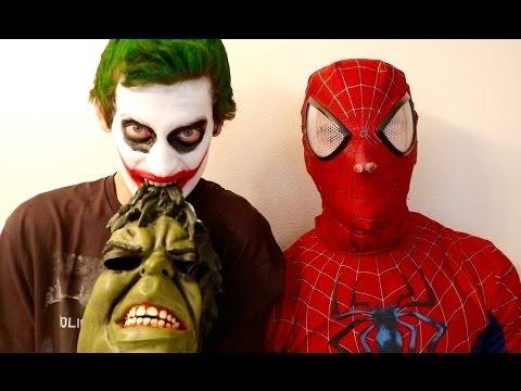Twin Jokers Vs Angry Hulk Vs Spiderman & Zombies - Real Life Superhero Movie Compilation