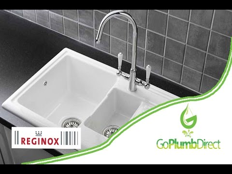 Reginox rl301cw ceramic kitchen sink youtube reginox rl301cw ceramic kitchen sink workwithnaturefo