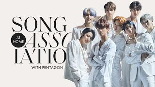 "PENTAGON Sings Rihanna, Black Eyed Peas, and ""Asteroid"" in a Game of Song Association 