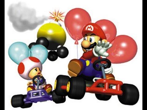 Mario Kart 64 Online Battle Mode #1 - YouTube