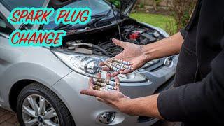 Ford Fiesta Mk7 1.4 Spark Plug Change