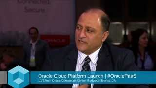 Fari Ebrahimi - Oracle Cloud Platform Launch Event - theCUBE