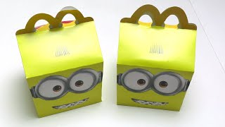 Minions Happy Meal 2020 Surpise
