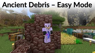 How to Find Ancient Debris in Minecraft 1.16 - Easy Mode