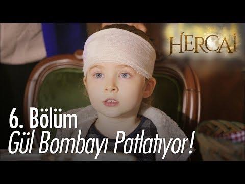 Gül Bombayı Patlatıyor! - Hercai 6. Bölüm