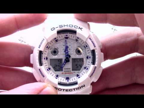 настроить часы casio g shock ga 100 специализированных магазинах вам