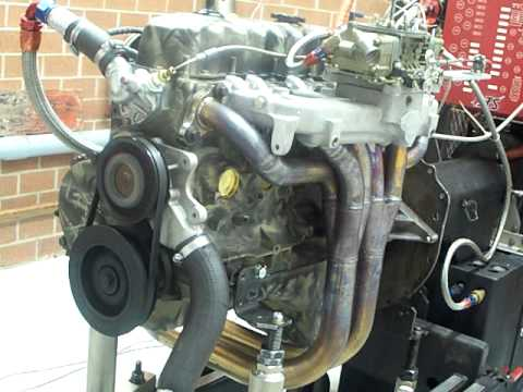 Newcomer racing Jeep 4.7 Stroker 6,500rpm Dyno Pulls 350.4hp@5,800