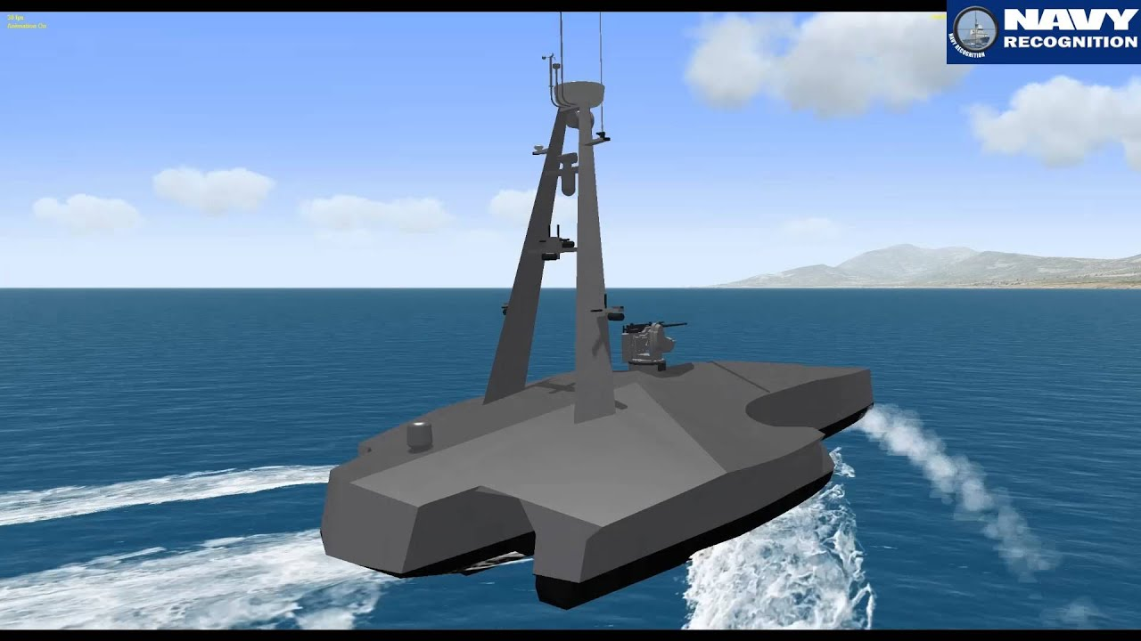 Saab Amp P T Lundin Bonefish Usv Concept At Indodefence 2014