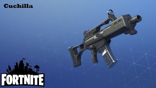 The Burst Rifle / Blade Fortnite: Saving the #141 World