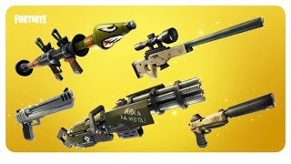 FORTNITE SEASON 3! SOLID GOLD LIMITED TIME GAME MODE   LEGENDARY WEAPONS