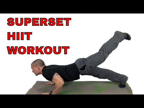 THE CHOPPING BLOCK… Superset |HIIT| Circuit…Grab your Dumbbells