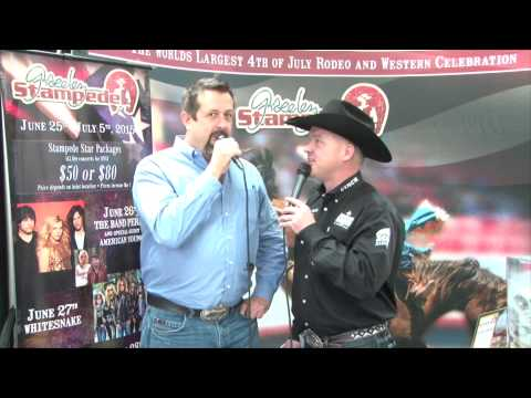 Colorado Farm Show and John DeWitt from the Greeley Stampede announces concert line up for 2015