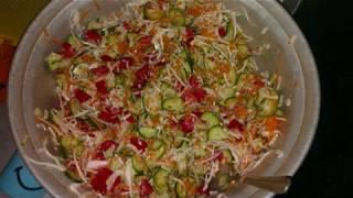 Самый вкусный салат на зиму: Генеральский салат