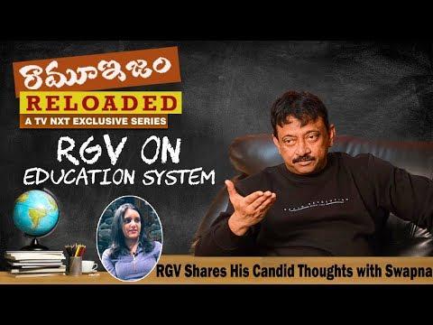 నా మాటలు వింటే టీచర్స్ అంతా నా మీద కేసు పెడతారు | RGV On Education System | Ramuism Reloaded | TVNXT