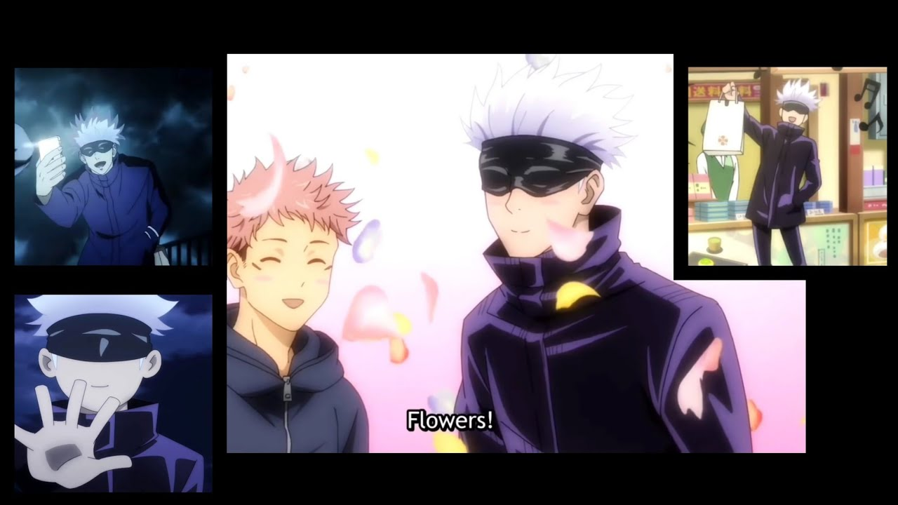 Download Satoru Gojo being funny for 2 minutes straight