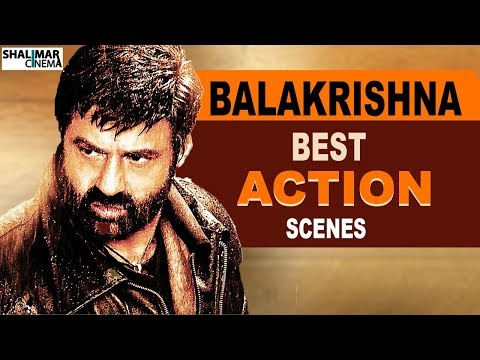 Balakrishna Best Action Scenes | Back To Back | Best Telugu Movies | Shalimar Telugu & Hindi Movies