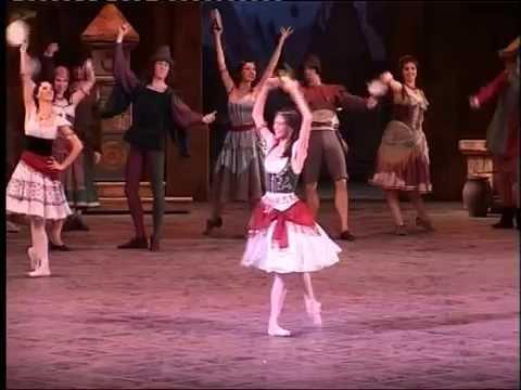 """Nina Kaptsova in """"Esmeralda""""  Part1"""