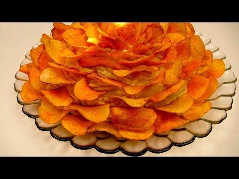 Изысканный Салат с Печенью Трески и Черносливом ♥ Рецепты NK cooking