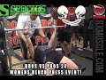 BROS VS PROS 24 Womens Bench Press Challenge!