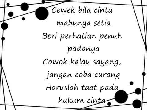 Bony- Hukum Cinta (OST Kahwin 5) with lyric
