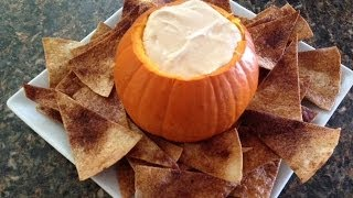 How To Make Pumpkin Dip With Cinnamon Chips