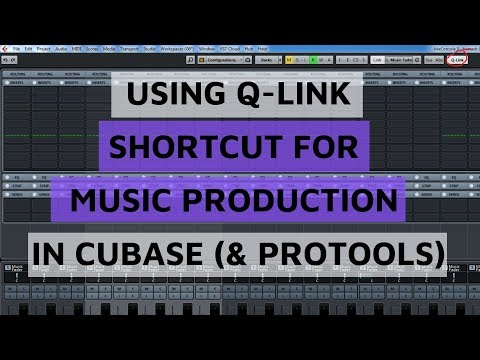 Composing Secrets 🎵 Using Q-link Shortcut Key for Cubase (& Protools)