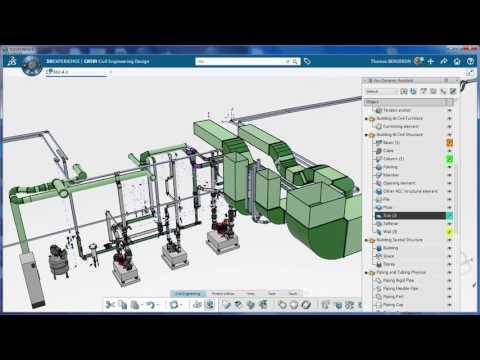 3DEXPERIENCE 2017x - Visu Assistant Bridge-Building-Fluidic