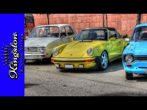 Jamaica Classic Car Club Dec 4 2016 Meet ( Porsche, Ford, MG, Mini, VW, Chevy & More)