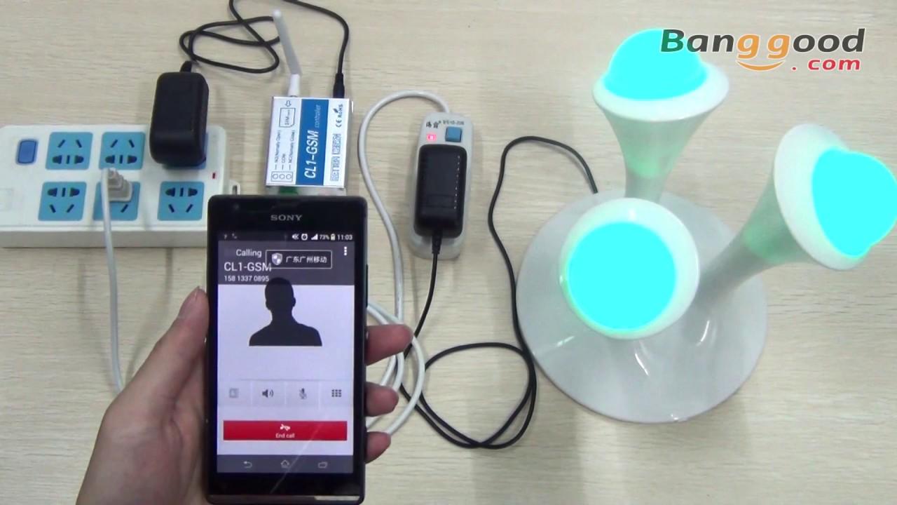 GSM Key SMS Remote Control Switch-Banggood com