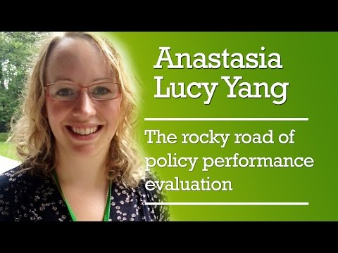 Anastasia Yang – The rocky road of policy performance evaluation
