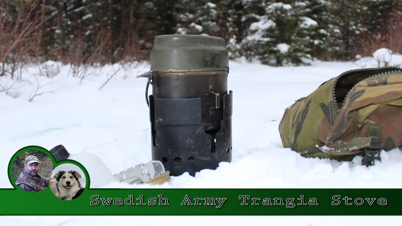 Swedish Army Trangia Stove Review