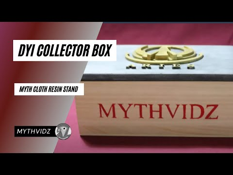 CRAFT │DIY Collector BOX │For ARIES RESIN Stand - MYTH CLOTH
