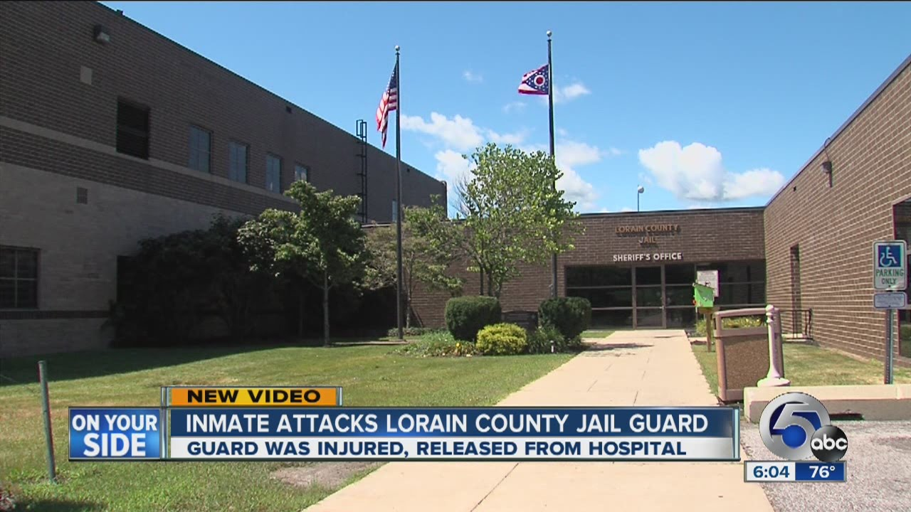 Video shows inmate attacking guard